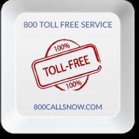 800 Toll Free Service